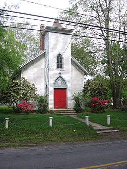 West Norwalk Meeting House, May 5, 2012