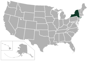 Metropolitan New York Conference - Image: Western New York Little Three Conference USA states