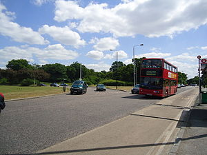 Whipps Cross - Image: Whipps Cross roundabout geograph.org.uk 2432249