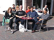 Wikimeeting Chris Watkins Leiden01.JPG