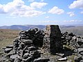 Wild Boar Fell trig point - geograph.org.uk - 163910.jpg