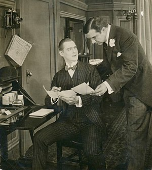 Wildfire (1915 film) - Lionel Barrymore in a sequence from the film
