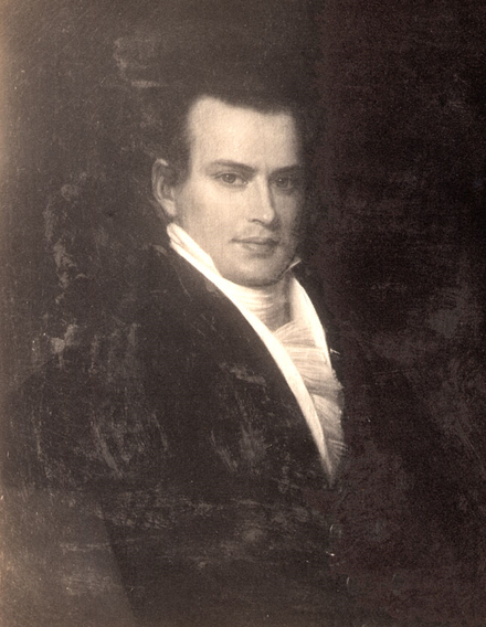William C. Rives, Jackson's Minister to France, successfully negotiated a reparations treaty with France in 1831. WilliamCRives.png