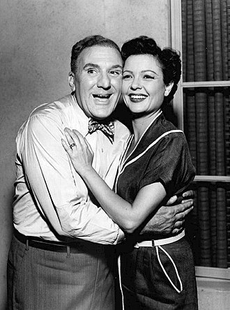 The Life of Riley - Image: William Bendix Marjorie Reynolds The Life of Riley 1956