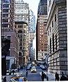 William Street, Financial District, New York City 5 crop.JPG
