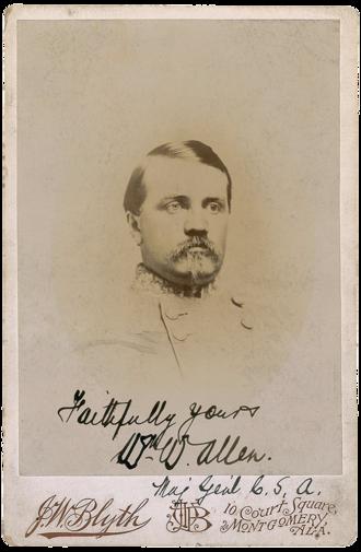 William W. Allen - Brig. Gen. William W. Allen