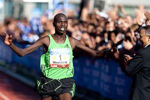 Wilson Chebet - Wilson Chebet during 2011 Amsterdam Marathon