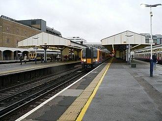 Wimbledon station - Image: Wimbledon station 03
