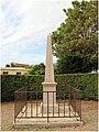 Wimereux (France – Pas-de-Calais) — La Pierre du Ballon - Monument érigé à la mémoire de Jean-François Pilâtre de Rozier et de Romain L'Aîné. (02).jpg