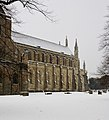 Winchester Cathedral after snow - geograph.org.uk - 1146145.jpg