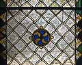 Window with Grisaille Decoration (detail), stained glass, Normandy, Rouen, 1320-1330 (5459183592).jpg