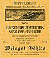 Wine Vintage Ehrenbreitsteiner 2009.jpg