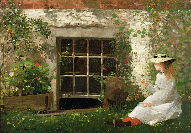 File:Winslow Homer - The Four Leaf Clover.jpg