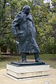 Winston Churchill statue located in ANU Canberra (cropped).jpg