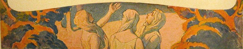 Wodan Frea Himmelsfenster II by Emil Doepler