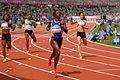 Women 100 m French Athletics Championships 2013 t152026.jpg