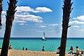 Wonderful day on Hollywood Beach FL.- Quelle belle journée d'avril sur la plage. - panoramio.jpg