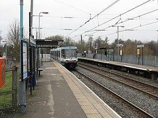 Woodlands Road tram stop