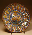 Workshop of Giorgio Andreoli - Dish with Lamb of God - Walters 481490.jpg