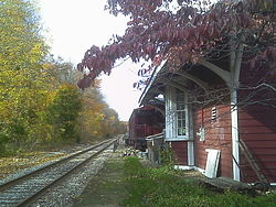 Wortendyke Railroad Station