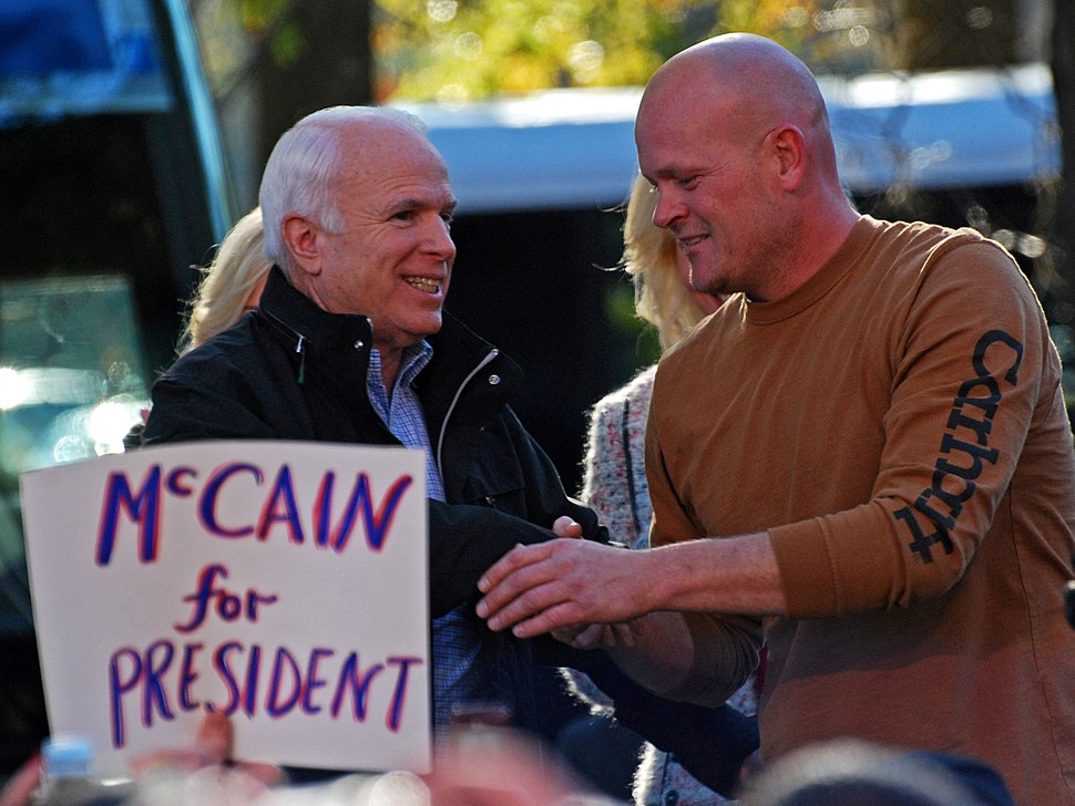 Wurzelbacher %26 McCain joint apperance at Elyria