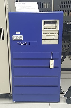 XKL - TOAD-1 unit on display at the Living Computer Museum in Seattle, WA
