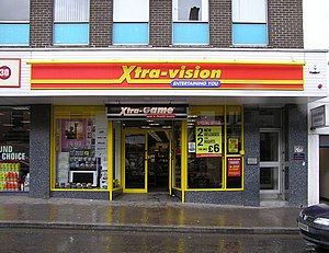 Xtra Vision, Omagh. It is located at Market Street