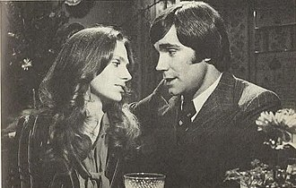 Janice Lynde - Janice Lynde and John McCook in a scene from The Young and the Restless