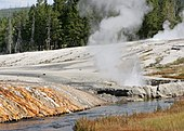 Landschaft im Yellowstone-Nationalpark