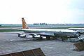ZS-CKD B707-344 South African Aws LHR 02SEP63 (6054275366).jpg