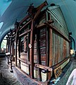 Zaandam - Krimp - Czar Peter House - Домик Петра I - ICE Fisheye Viewing on the Wooden House 1632 made from Old Ships' Timber.jpg