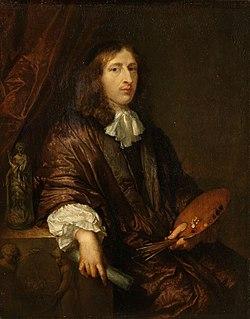 Caspar Netscher Dutch painter