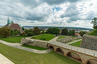 Ravelin - Image: Zitadelle Petersberg in Erfurt 2014 (20)