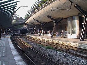 Image illustrative de l'article Gare de Zurich Stadelhofen
