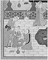 """Bahram Gur in the Sandal Palace on Thursday"", Folio 230 from a Khamsa (Quintet) of Nizami MET 187681.jpg"