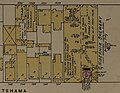 """HIBERNIA BREWERY"" in 1889 map detail, Sanborn Fire Insurance Map from San Francisco, San Francisco County, California. LOC sanborn00813 005-6 (cropped).jpg"