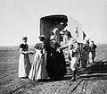 """Sister Pretty departing""; Boer war nurse, c. 1900 Wellcome L0024927.jpg"