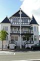 """""""Vergeet me niet"""" en """"Klokke Roeland"""", villa, vierwoonst in eclectische stijl, Duinbergenlaan 73,75, Duinbergen (Knokke-Heist).JPG"""