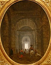 'The Grotto of Posillipo' by Hubert Robert, c. 1769.JPG