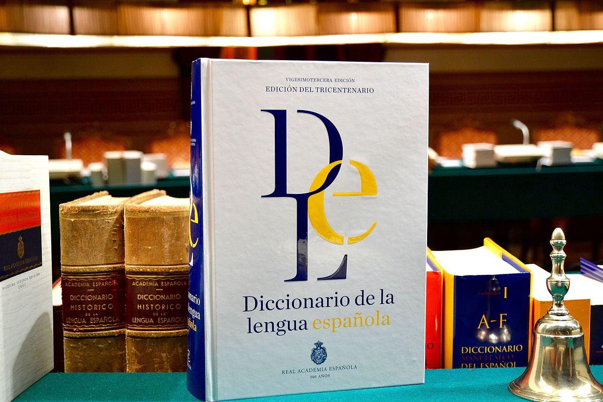 Diccionario de la lengua española - Wikipedia, la enciclopedia libre