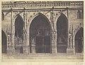 Édouard Baldus, Portico, St. Germain l'Auxerrois - Getty Museum.jpg