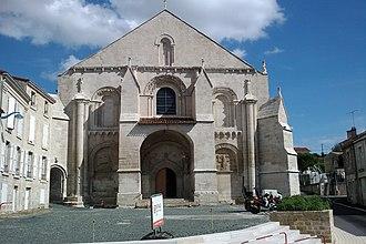 Benet, Vendée - The Church of Sainte-Eulalie, in Benet