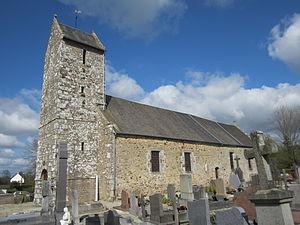 L'église Sainte-Trinité.