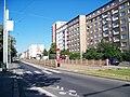 Černokostelecká, zastávka Zborov-Strašnické divadlo (01).jpg