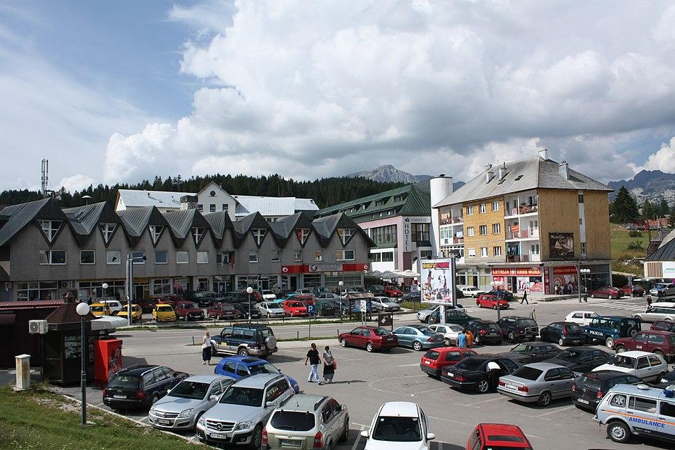 Žabljak, Montenegro - main square