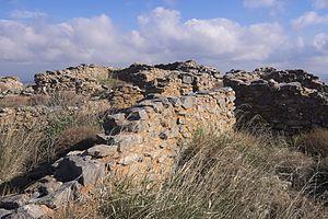 Chamaizi - Image: Μινωική οικία Χαμαιζίου 0704