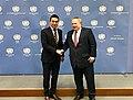 Συνάντηση ΥΠΕΞ N. Κοτζιά με τον ΥΠΕΞ πΓΔΜ N. Dimitrov και τον Προσωπικό Απεσταλμένο ΓΓ ΟΗΕ M. Nimetz στη Βιέννη (25.04.2018) (40811002435).jpg