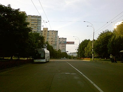 How to get to вулиця Наталії Ужвій 5 with public transit - About the place