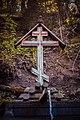 Гремячий ключ, Сергиево-Посадкий р-н. Источник под крестом.jpg