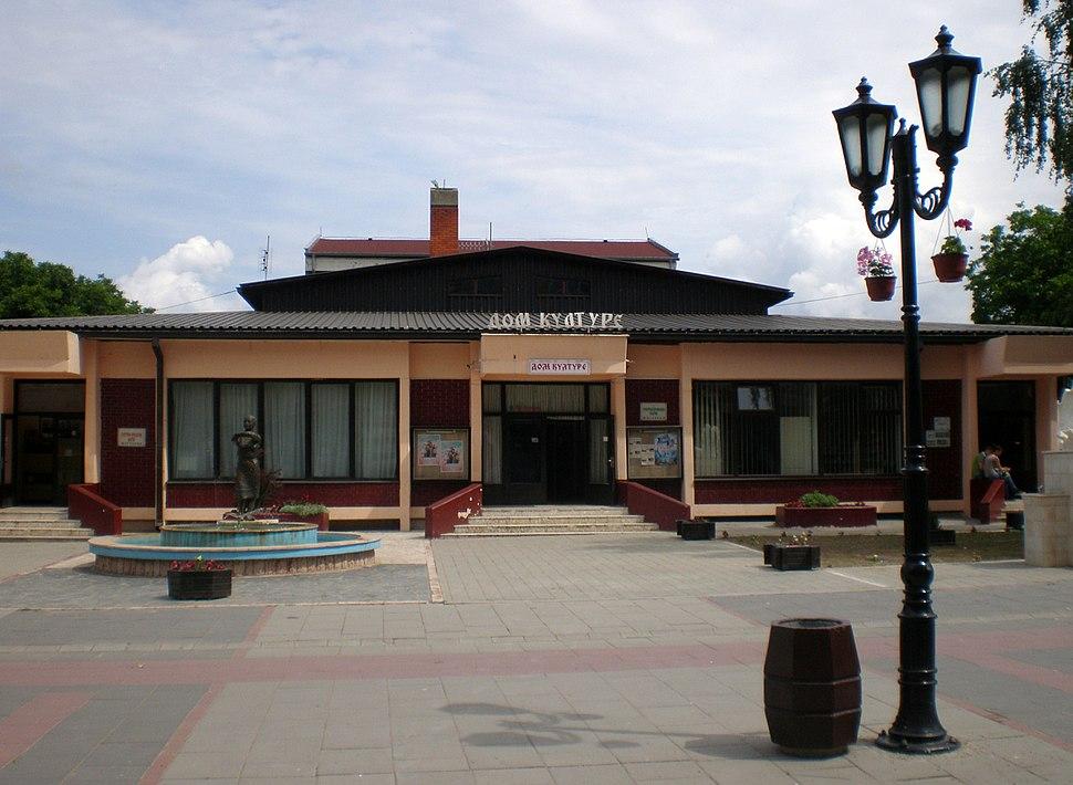 Дом културе у Жагубици